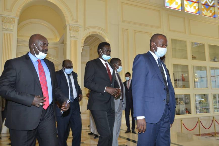 Tchad : des chefs d'ex-factions rebelles soudanaises reçus à la Présidence