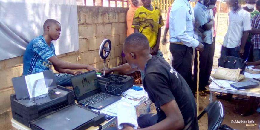 Tchad : le taux d'enrôlement d'électeurs à 60,55% de l'objectif au Mayo Kebbi Ouest