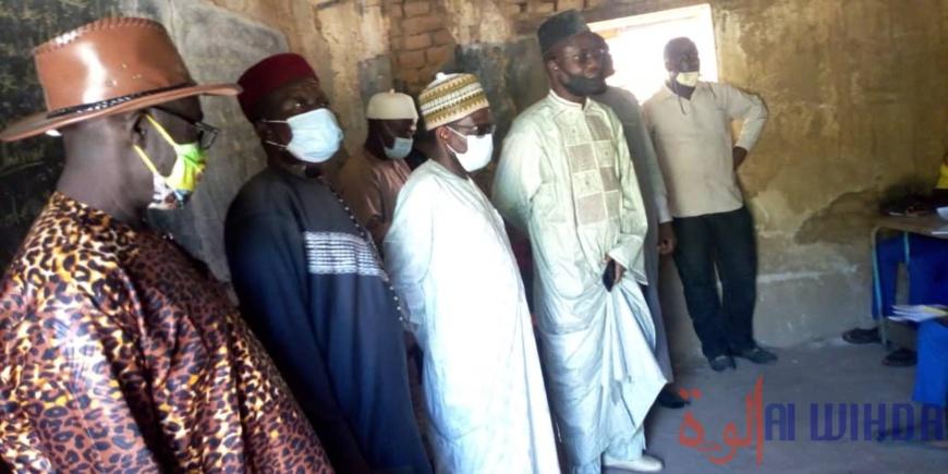 Tchad : le recteur d'académie du centre inspecte les structures éducatives au Guéra