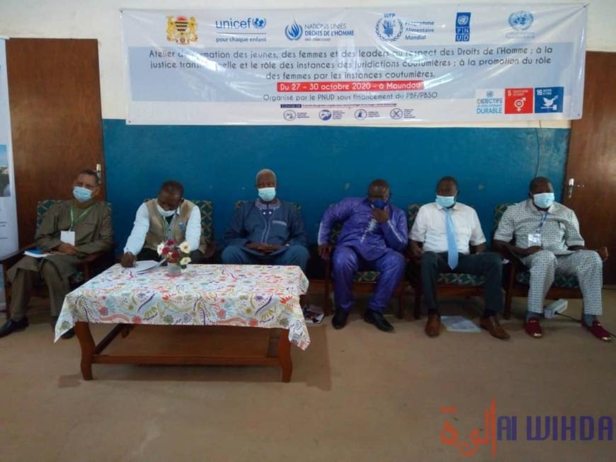 Tchad : le respect des droits de l'Homme au centre d'une formation citoyenne à Moundou