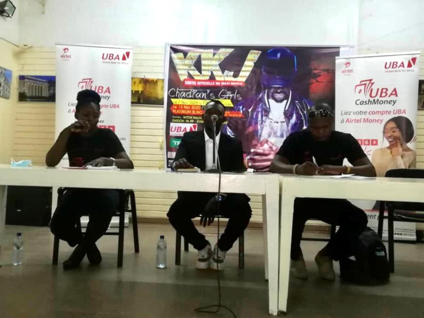Tchad : l'artiste KKJ annonce la sortie de l'album