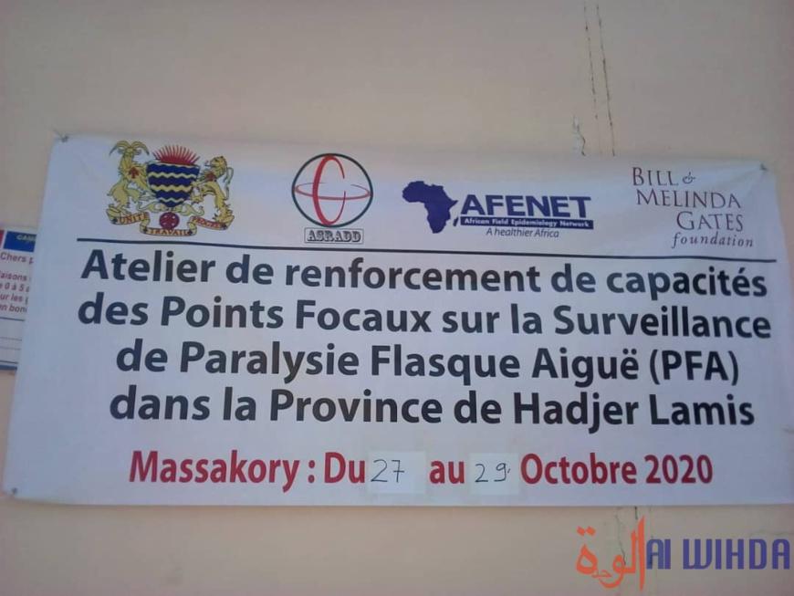 Tchad : au Hadjer Lamis, un projet pour renforcer la surveillance de paralysie flash aigüe. ©Massakory Mbainaissem Gédéon/Alwihda Info