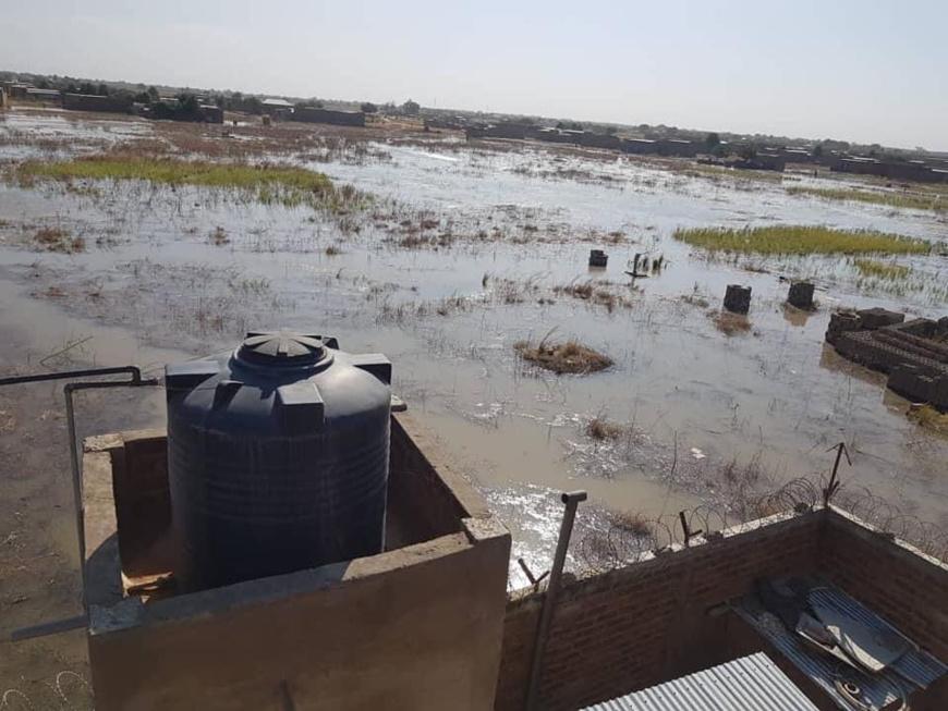 Tchad : le chef de l'État débloque des moyens d'urgence face aux inondations à N'Djamena