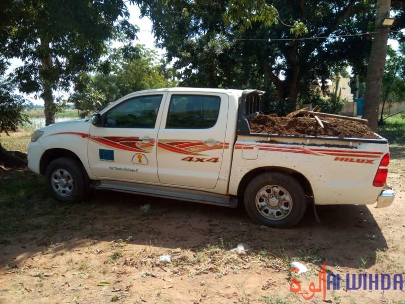 Tchad : un véhicule de service du maire 2e adjoint de Moundou saisi pour infraction