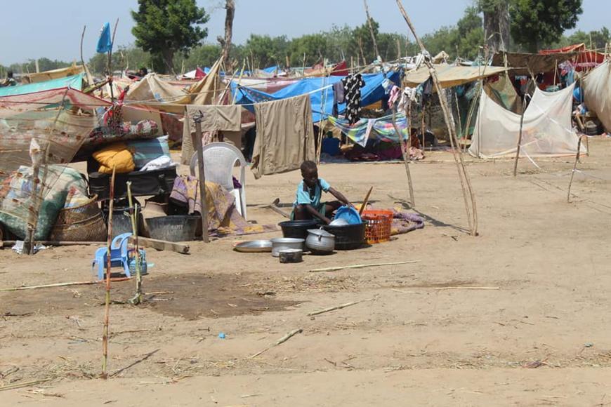 Tchad : des vivres distribués aux sinistrés des inondations à N'Djamena