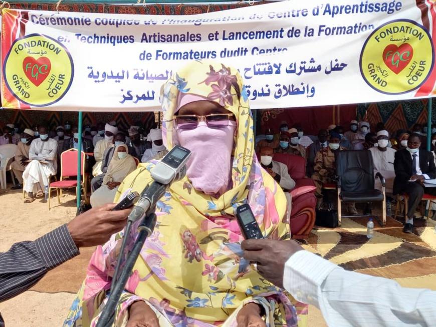 Tchad : la FGC inaugure un centre d'apprentissage en techniques artisanales à Abéché