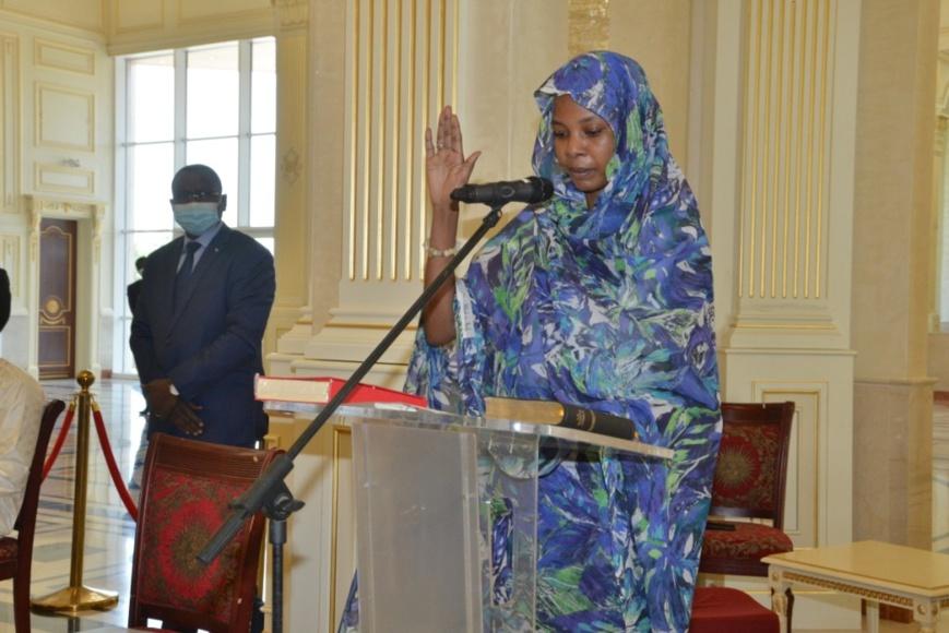 Tchad : Amalkher Djibrine Souleymane prête serment à la Présidence