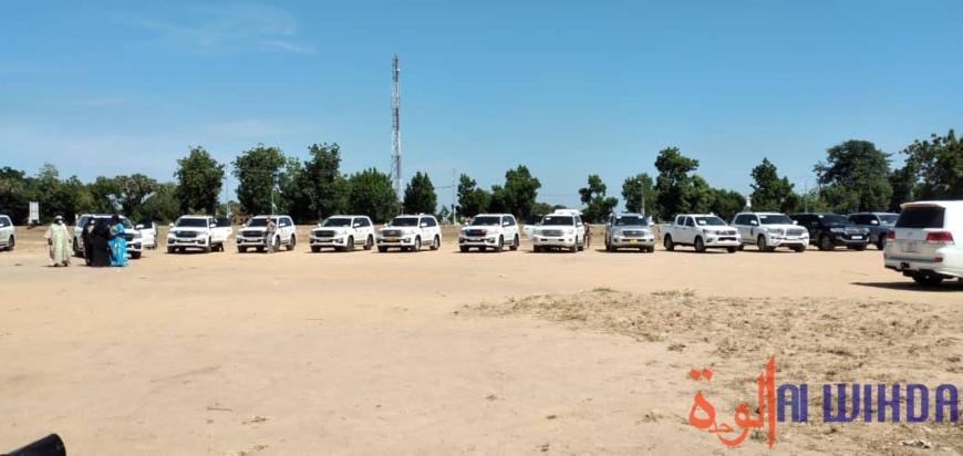 Tchad : route Djouman-Koyom-Laï-Doba, Déby va poser la pierre de construction