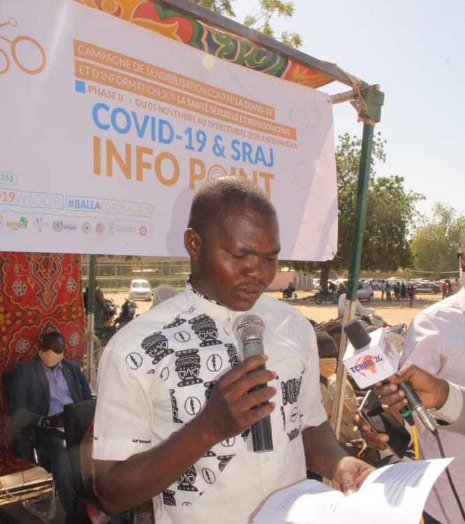 Tchad : Afriyan et RJDLT s'impliquent contre la Covid-19 et sur la santé de la reproduction