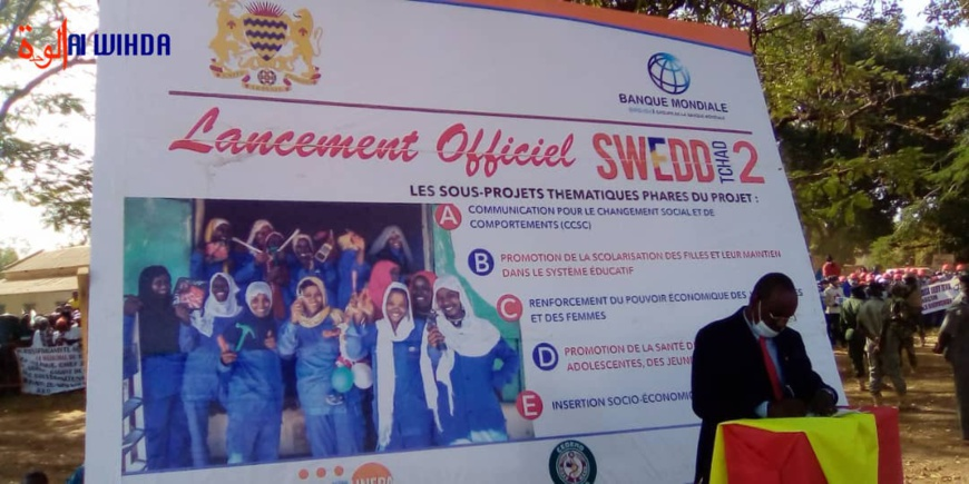 Tchad : le chef de l'État lance ce samedi le projet SWEDD 2 à Pala