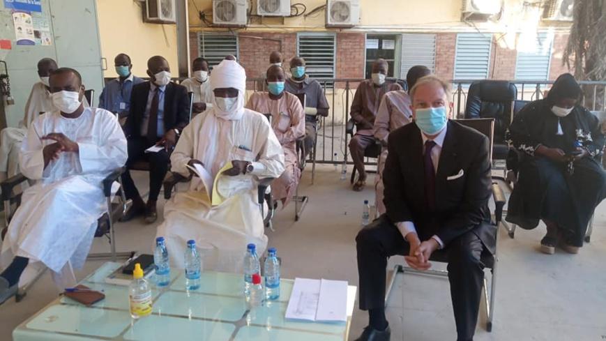 Tchad : des équipements médicaux remis par la France pour faire face à la Covid-19
