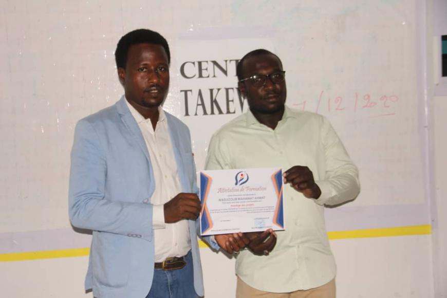 Tchad : le centre Takewin honore les bénéficiaires d'une formation en montage de projets