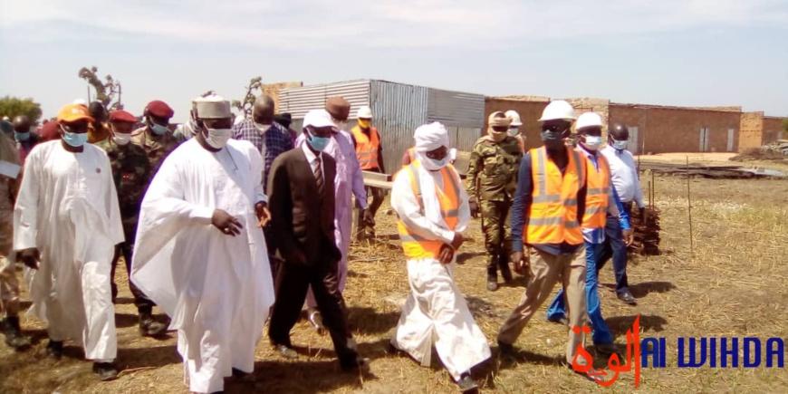 Tchad : les travaux redémarrent pour la future Université de Pala qui