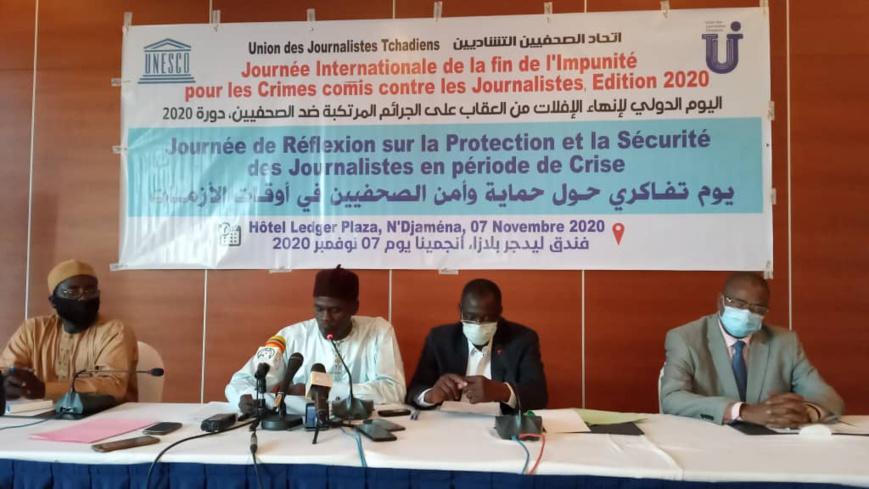 Tchad : la protection et la sécurité des journalistes en période de crise, un défi pour l'UJT