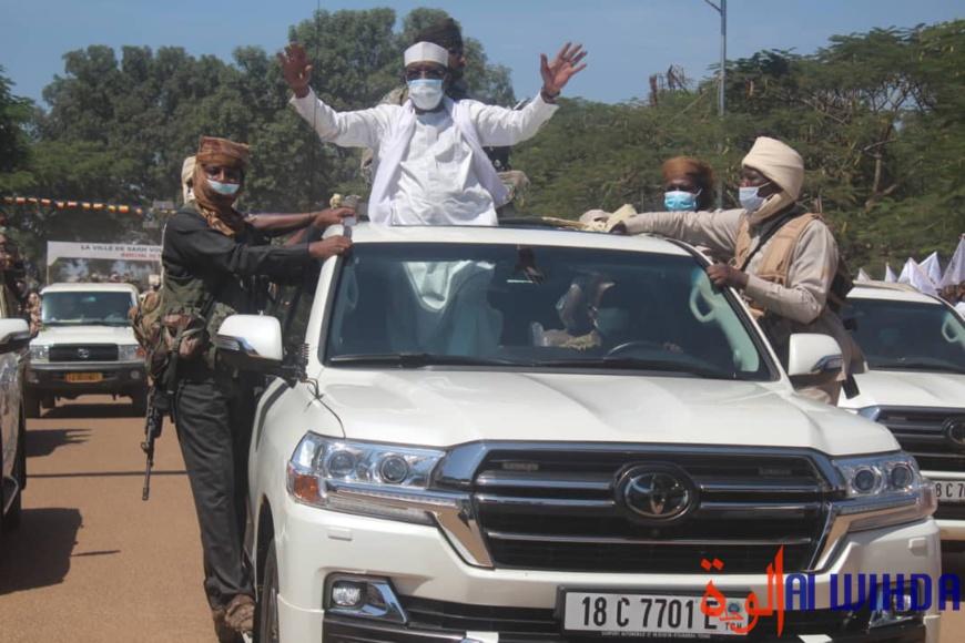 Tchad : Idriss Déby est à Sarh, dans la province du Moyen-Chari