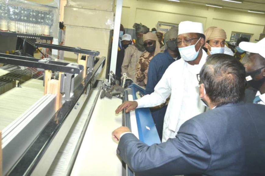 Tchad : la nouvelle société des textiles inaugurée à Sarh