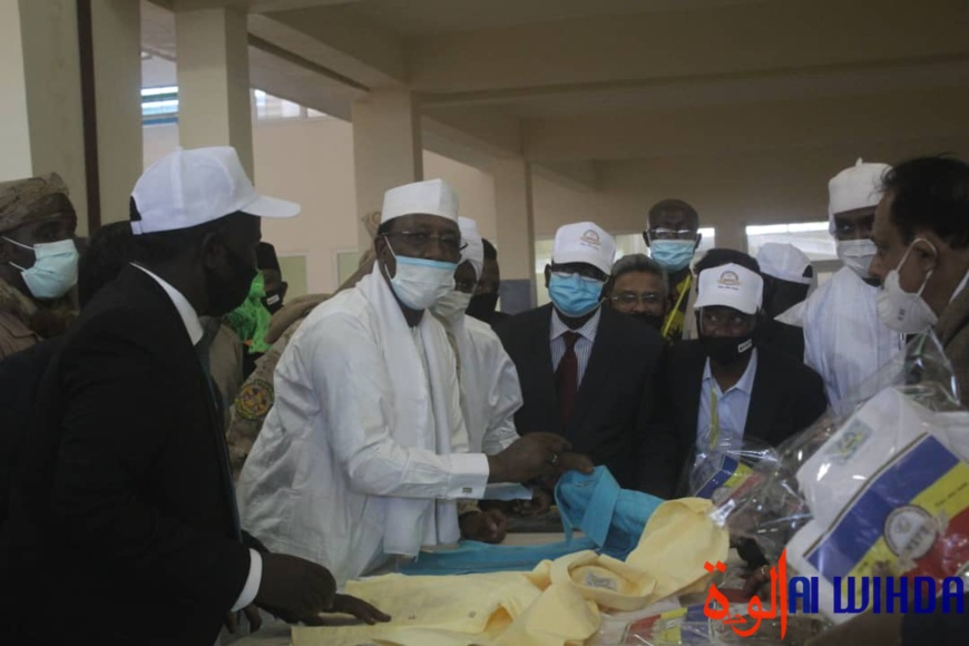 Tchad : le président annonce l'interdiction définitive d'importation de tissus. © Malick Mahamat/Alwihda Info