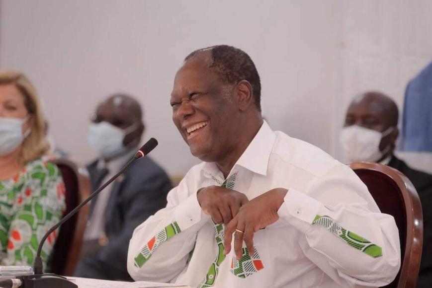 Côte d'Ivoire : la victoire d'Alassane Ouattara confirmée par le Conseil constitutionnel. ©A.O.