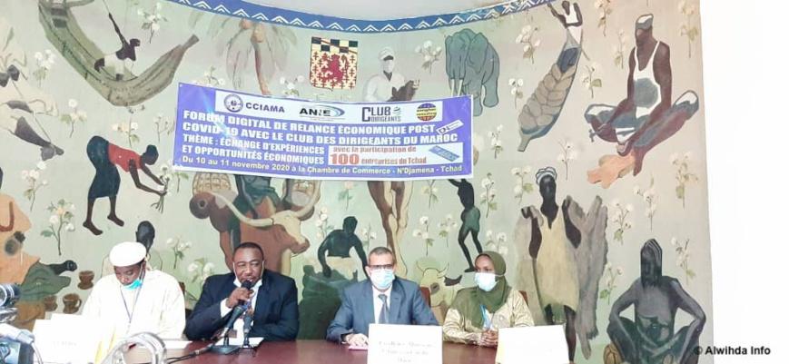 Tchad : un forum digital pour aider le secteur privé dans la relance économique post-Covid