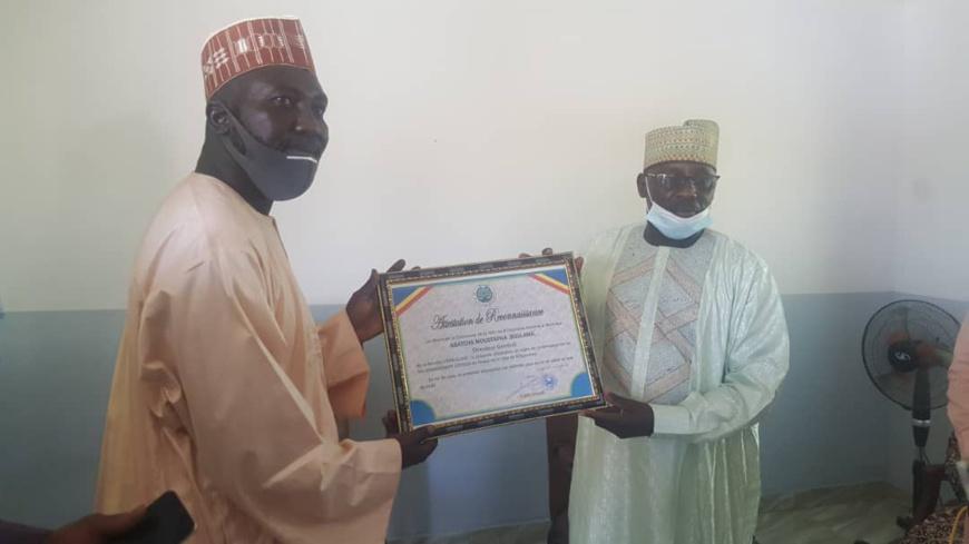 Tchad : Vitre Claire distingué pour ses efforts de lutte contre la Covid-19 et le paludisme
