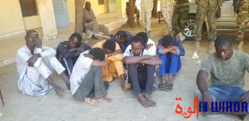 Tchad : 18 présumés malfaiteurs arrêtés par la gendarmerie