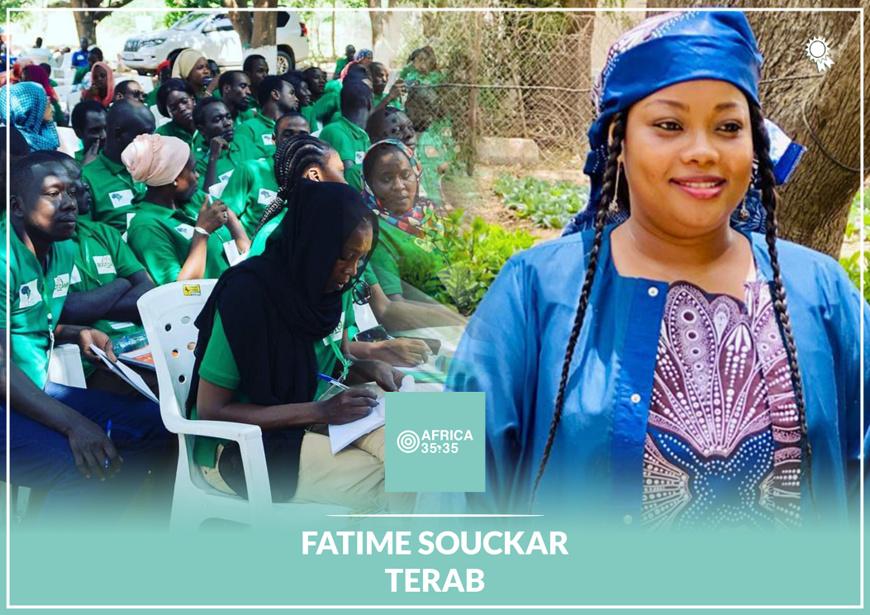 Prix Africa 35.35 : Fatime Souckar Terab dans la liste des 35 jeunes qui font bouger l'Afrique en 2020 !
