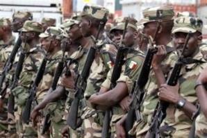 L'armée sénégalaise. Crédits photos : Sources