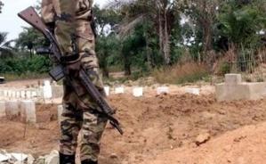 Un soldat sénégalais. Crédits photos : Sources