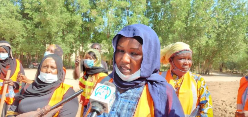 Tchad : des femmes ingénieurs en opération de salubrité au ministère des Infrastructures