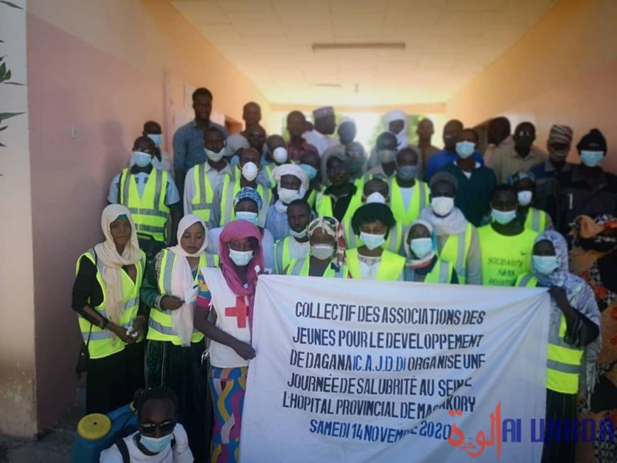 Tchad : une action citoyenne de salubrité à l'hôpital provincial de Massakory