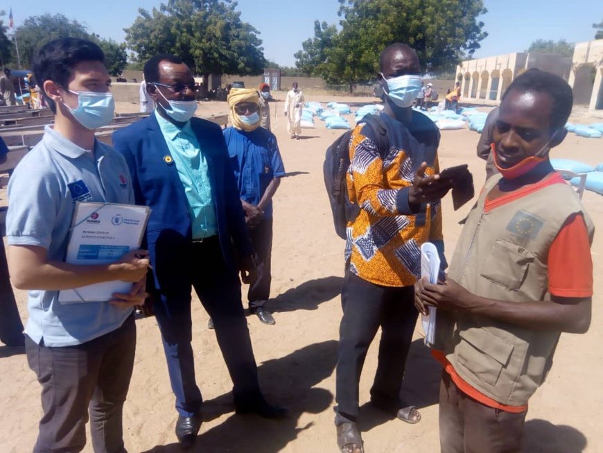 Tchad : 1944 ménages d'Ati reçoivent des vivres pour atténuer les effets de la Covid-19