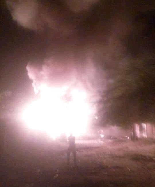 Tchad : les pompiers interviennent sur un incendie suite à une détonation à N'Djamena