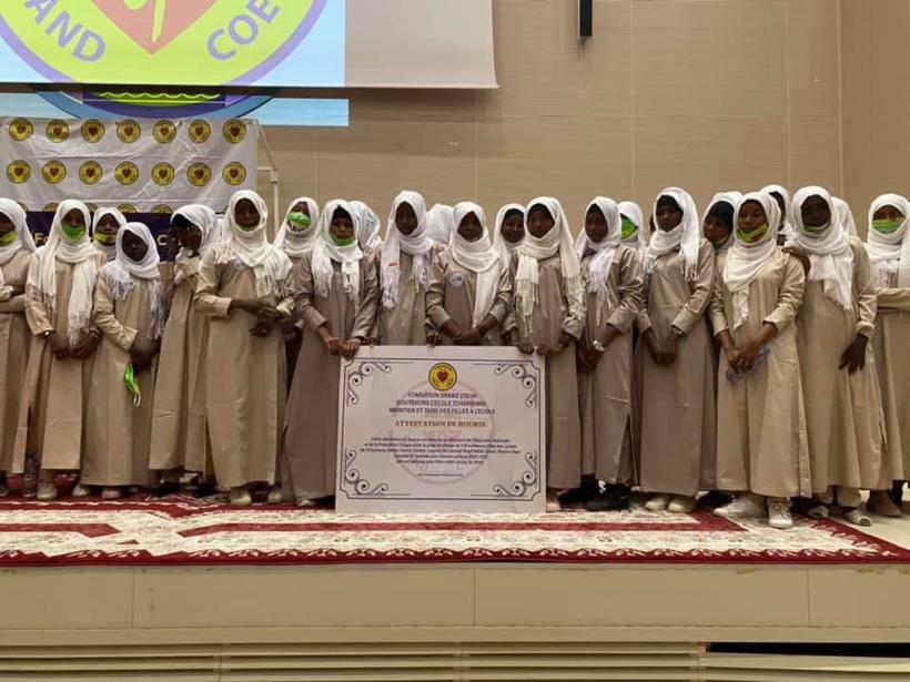 Tchad : des bourses scolaires remises à 418 filles pour l'année 2020-2021
