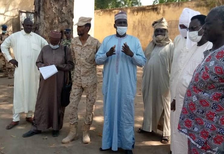 Tchad : le préfet de la Kabbia en visite à la maison d'arrêt de Gounou Gaya