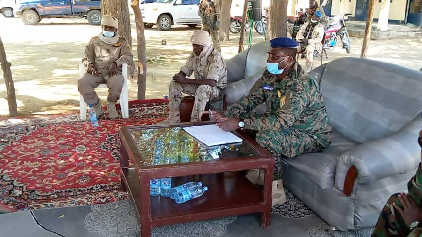 Tchad : le directeur général de la gendarmerie fait un rappel à l'ordre aux éléments de Massenya