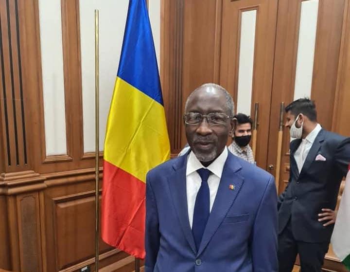 L'ambassadeur extraordinaire et plénipotentiaire du Tchad en Inde, Soungui Ahmed. © Tchad Diplomatie