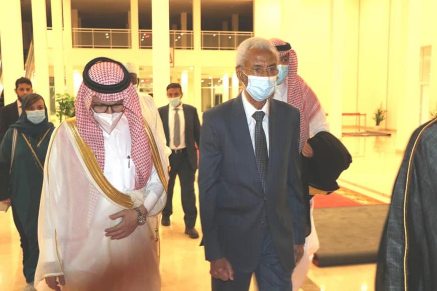 Tchad : un ministre d'État saoudien à N'Djamena pour remettre un message au président. © Tchad Diplomatie