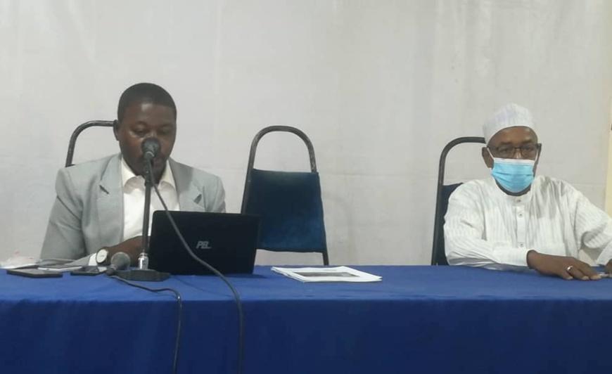 Jeunesse : Le représentant du Tchad à la CCNJG5 présente un rapport biennal