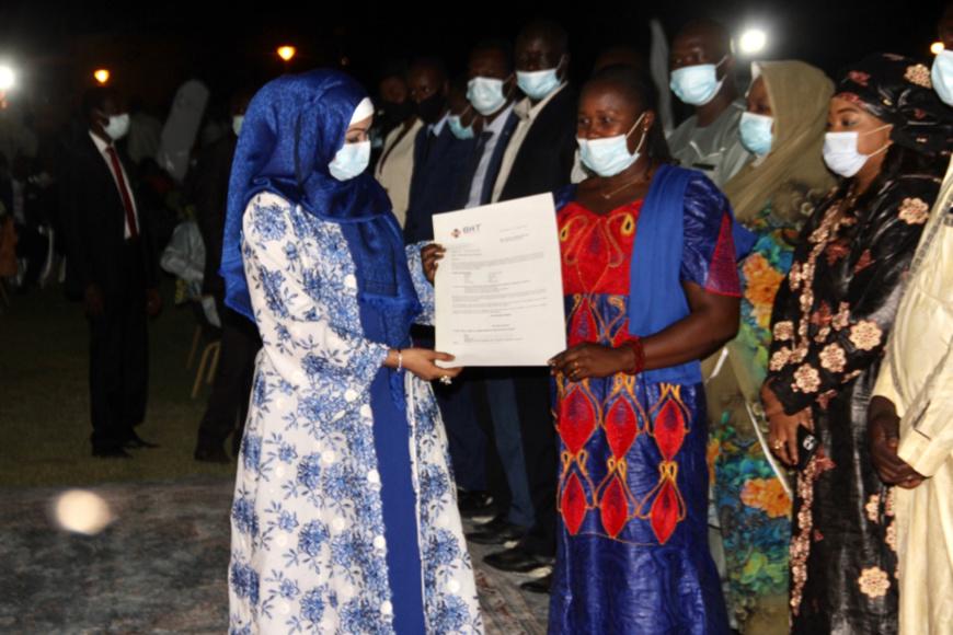 Tchad : la Première Dame galvanise la jeunesse lors de la nuit des entrepreneurs
