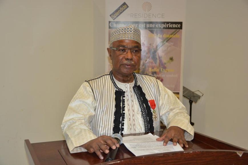 Le diplomate tchadien Hissein Brahim Taha. © DR/Amb.Fr