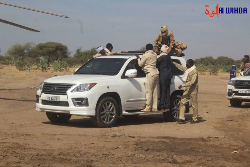 تشاد: وصول رئيس الجمهورية الى مدينة مساكورى © Ali Moussa/Alwihda Info