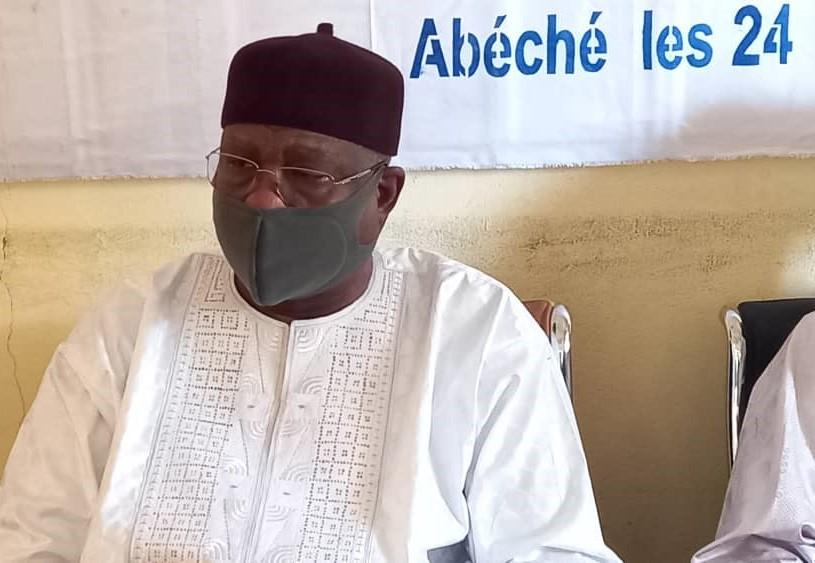 Le gouverneur de la province du Ouaddaï, le Général Brahim Seid Mahamat.