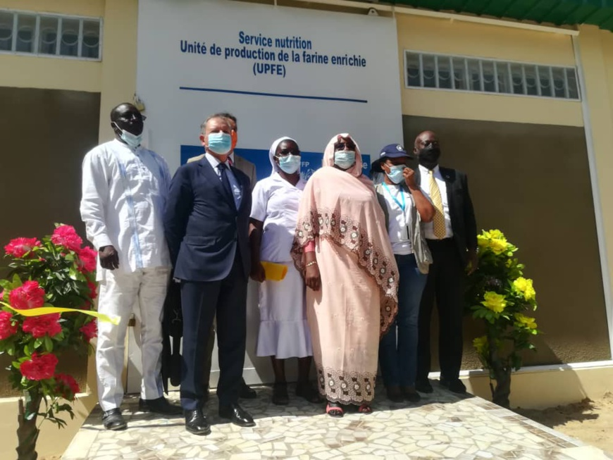 Des farines infantiles pour lutter contre la malnutrition au Tchad. ©Ali Moussa/Alwihda Info