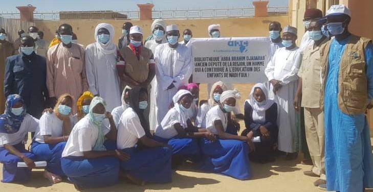 Tchad : L'ONG AHA construit une bibliothèque à Biltine