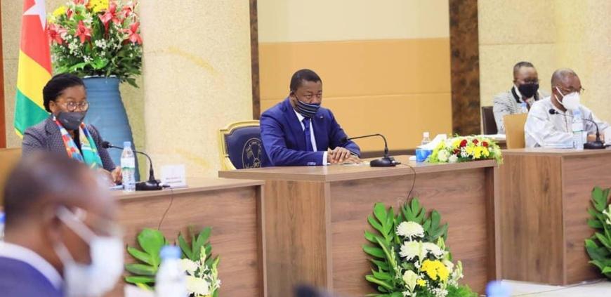 Crédit photos: Présidence du Togo