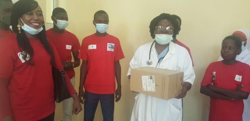 Tchad : L'Association « Elan d'Espoir » offre des médicaments contre la drépanocytose