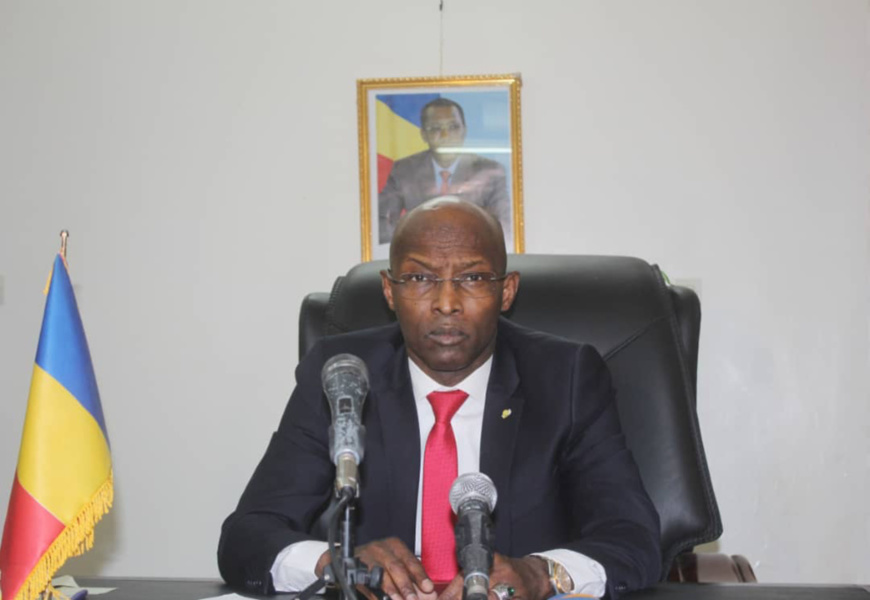 Le ministre de la Sécurité publique et de l'Immigration, Mahamat Tahir Orozi. © Alwihda Info