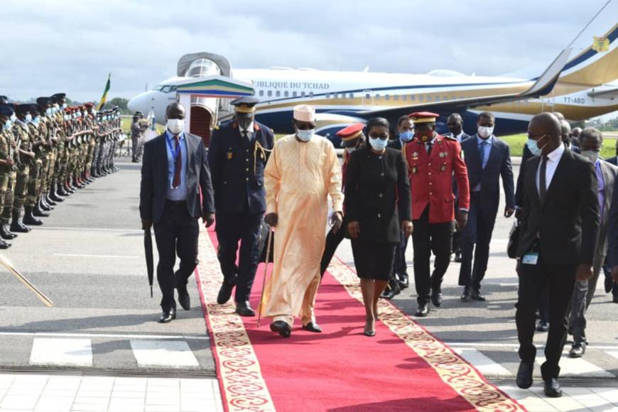 Sommet de la CEEAC : Le président tchadien est à Libreville. © PR