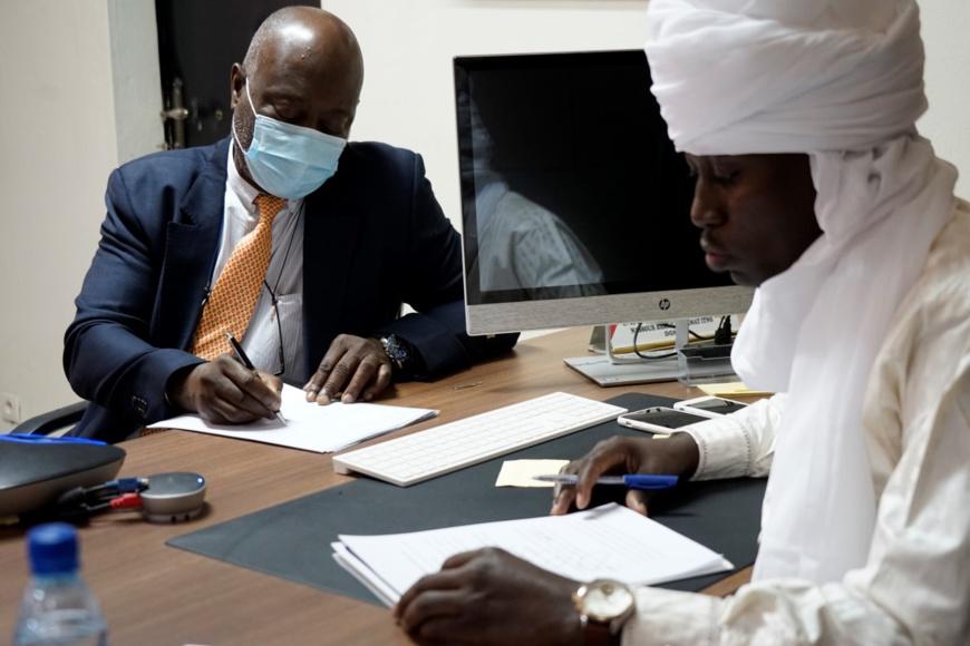 Le Japon octroie une généreuse contribution au PAM pour soutenir les populations affectées par des crises au Tchad. © WFP/Maria Gallar