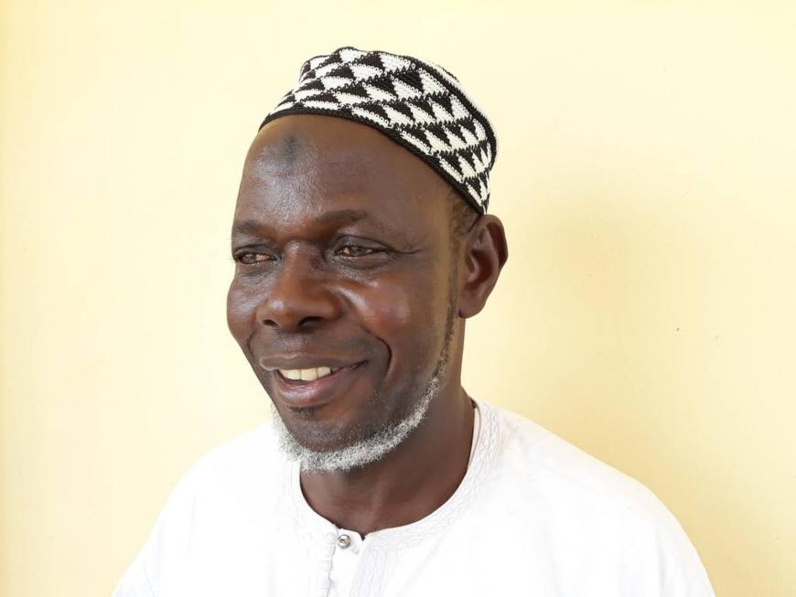 L'imam Omar Kobine Layama. © Radio Ndeke Luka/Stéphane Andjioyo